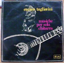 TAGLIAVINI ENRICO MUSICHE PER SOLA CHITARRA LP MINT RARO