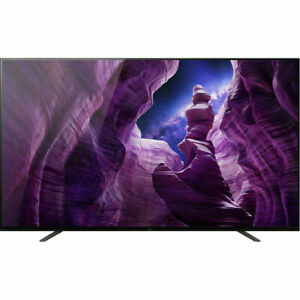 """Sony 55"""" A8H Series OLED 4K Ultra HD HDR Smart Android TV - XBR55A8H 2020 Model"""