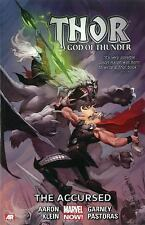 Thor: God of Thunder Volume 3 The Accursed by Jason Aaron 2014, Paperback NEW!