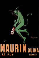 Leonetto Cappiello Maurin Quina Quinina Apertif Green Devil Vintage Advertising