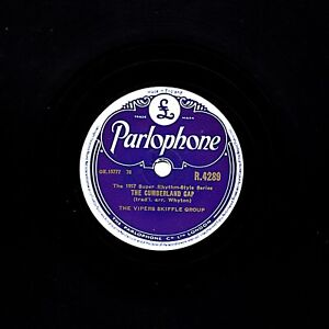 VIPERS SKIFFLE 78  DON'T YOU ROCK ME DADDY-O / 10,000 YEARS AGO  PARL. R 4261 E