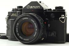 [N, MINT-] Canon A-1 Black 35mm SLR w/ NEW fd 50mm f1.8 from Japan #0601