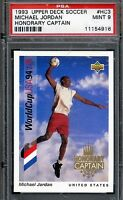 1993 Upper Deck MICHAEL JORDAN '94 World Cup Captain PSA 9 GEM