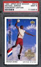 1993 Upper Deck MICHAEL JORDAN '94 World Cup Captain PSA 9 GEM