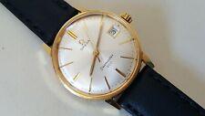 Men's Gold Plated Manual Winding Omega Seamaster 600 Wrist Watch