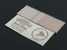 1 Pack(20pcs) SAVINELLI BALSA SYSTEM 6mm Pipes Filters Smoking Pipe Filter N360