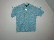 timberland t-shirt short sleeve blue floral box #38 size medium NWT