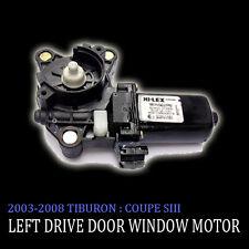 Left Side Door Window Motor For 2003 2008 Hyundai Tiburon : Coupe SIII