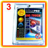 3 Ultra Pro ONE TOUCH MAGNETIC 180pt UV Card Holder Display Case Two Piece 82233