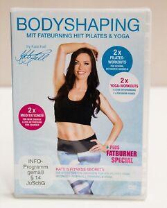Bodyshaping mit Fatburning HIIT Pilates & Yoga by Kate Hall DVD NEU
