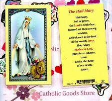 Hail Mary - Laminated Holy Card