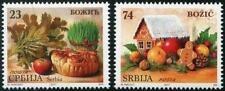Christmas 2017 Set of 2 mnh stamps Serbia