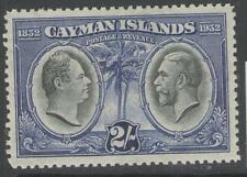 Mint Hinged George V (1910-1936) Caymanian Stamps