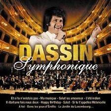 JOE DASSIN Symphonique (CD 2010) 15 Songs French Album Tandem