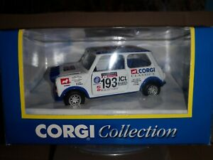 Corgi Classic Mini Diecast Model LTD Edition Rally Mini no 193 Network Q 1