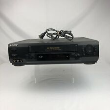New ListingSony Slv-N60 Auto Head Cleaner Hi-Fi Stereo Vcr Recorder Vhs Video Player