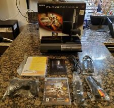 Playstation 3 500GB Motorstorm Limited Edition Bundle - In Box Plays PS1,PS2,PS3