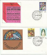 Australia Fdc 1979 Christmas-2 Covers