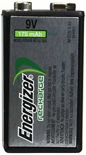 6 Pack Energizer 9 Volt Rechargeable NiMH Battery 175mAh NH22NBP 8.4V Each
