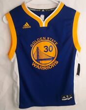 Adidas Golden State Warriors Stephen Curry Authentic Jersey Mens Sz M NWT