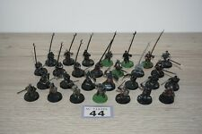 Warhammer LOTR - Lord Of The Rings Uruk-hai Warriors x 28 LOT 44