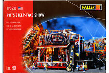 Wall of Death Model H-O scale model by Faller three motorcycles driving around