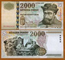 Hungary, 2000 Forint, 2004, Pick 190 (190c) UNC