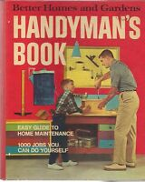 Better Homes & Gardens Handyman's Book 1973 Hardcover Ring Binder