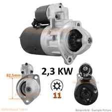 2,3 KW Starter Anlasser KHD Deutz F2L1011 F3L1011 F4L1011 0001218172 0001223002