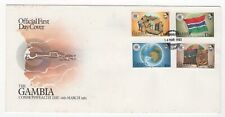 1983 GAMBIA First Day Cover COMMONWEALTH DAY