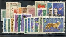 NORTH VIETNAM 1957-1965 24 DIFFERENT, F-VF USED, INCLUDES SEVERAL SETS, $44