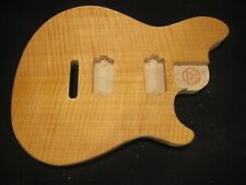 #21-503 Wolfgang Type body, Us Made, Unfinished, Flamed veneer.
