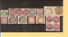 Pr Vor / KOENIGSBERG PR., 11 feinst-Kabinett-Stücke, dabei je K2 (m. Jahr)