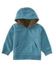 NWT 6-12 Months Gymboree ARCTIC ADVENTURE Teal Blue Fleece Hoodie Pullover Top