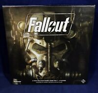 New FALLOUT A Post-Nuclear Board Game FANTASY FLIGHT Bethesda FISCHER & HAJEK