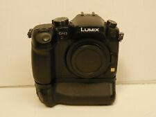 Panasonic LUMIX DMC-GH3 mirriorless 16MP digital camera 296 shutter count + grip