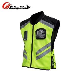 Motorcycle Reflective Vest Motorbike Safety Clothes High Visibility Jacket