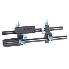 15mm Rail Rod System for Lens Adapter Follow Focus Matte Box DSLR 5D Mark II