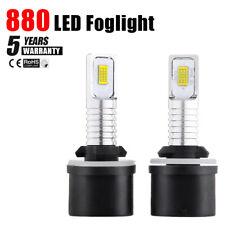 2PCS 360° 880 LED Bulbs Fog Lights LED Kits 70W 2200LM Aluminum Heat Dissipation