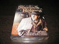 Sherlock Holmes DVD Basil Rathbone Contiene 3 Film Sigillata Nuovo