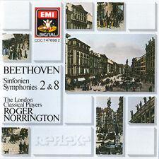 Beethoven Symphonies 2 & 8