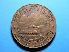 1870 Ferro Carril Railway medal (0685)  BY C. E. Bryant, Lima