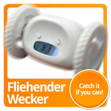 Rollender Wecker - rollende Bewegungswecker Gadget Fun digitaler Alarmwecker