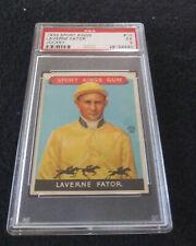 1933 Goudey Sport Kings #13 Laverne Fator PSA EX 5