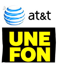 Unefon-At&T Mexico Sim card Prepaid Only Work In Mexico, Free shipping