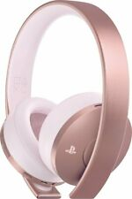 Sony Rosa Oro Inalámbrico 7.1 Surround Gaming Headset Sound Para Playstation 4