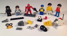 Lot Of Miscellaneous Legos And Off Brand Figures, Pieces, Parts Building Toy Lot