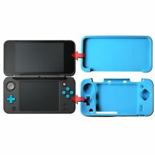 Soft Silicon Protect Case Skin Cover for Nintendo New 2DS XL Blue