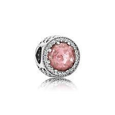 Blush Pink PANDORA Radiant Hearts Silver Charm (791725NBP)