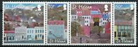 St Helena Art Stamps 2015 MNH Paintings of Main Street Jamestown 4v Set